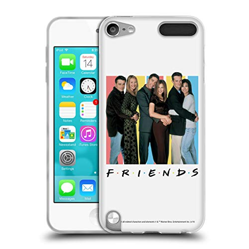 Official Friends TV Show Cast Logos Soft Gel Case Compatible for Apple iPod Touch 5G 5th Gen (Ipod 5 Cases Best Friend)