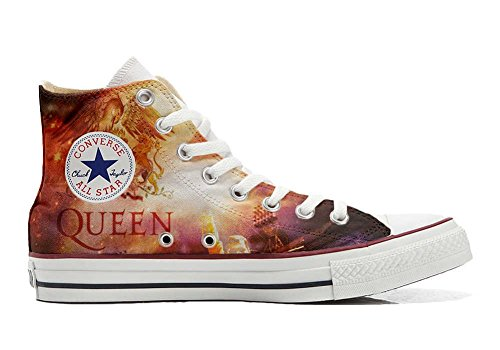 Handwerk Hi Schuhe Schuhe personalisierte Star All music Customized Converse F16YqY