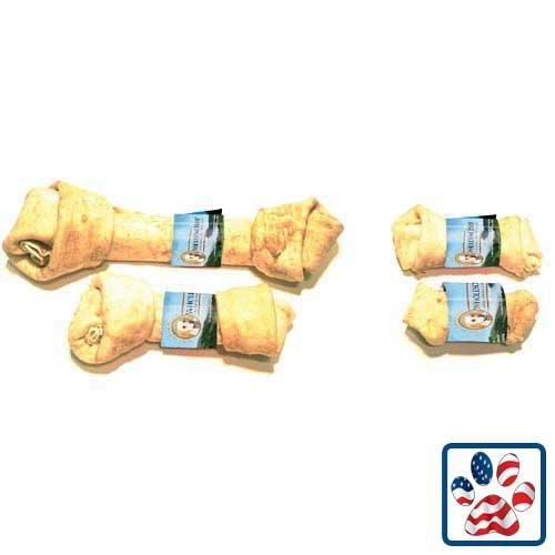 Premium USA Beef Hide - Flat Knot Bone - 10