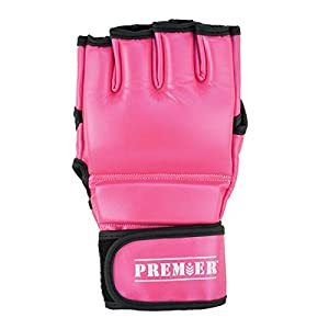Revgear Premier MMA Gloves, Small, Pink/Black