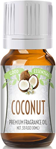 Coconut Scented Oil by Good Essential (Premium Grade Fragrance Oil) - Perfect for Aromatherapy, Soaps, Candles, Slime, Lotions, and More!