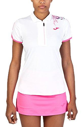 Joma 900165.218 - Polo con Cremallera para Mujer, Color Blanco ...