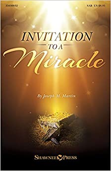 Book Invitation to a Miracle: A Cantata for Christmas