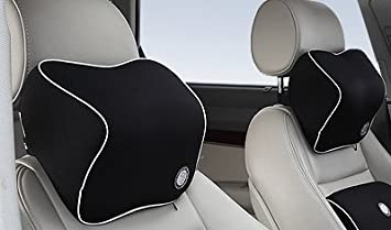 Zero Pressure Memory Foam Vehicle Pillow Neck Support Head and Neck Cushion  for
