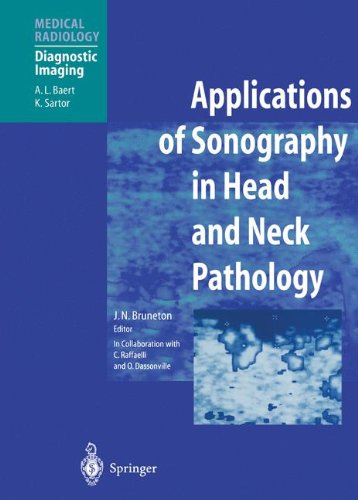 Lymphatic System Head And Neck - Applications of Sonography in Head and Neck Pathology (Medical Radiology / Diagnostic Imaging)