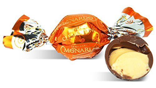 Monardo, Italian Clementine Pralines w/ Milk Chocolate (Crema Clementine al Tartufo) (40 pcs)