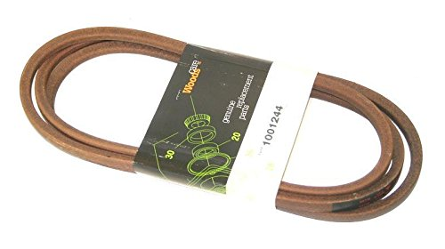 WOODS OEM FINISH MOWER BELT FOR  RD6000 PRD6000 Part #1001244