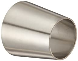 Dixon B31W-G200150P Stainless Steel 304 Polished Fitting, Weld Concentric Reducer, 2\