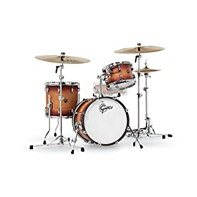 Gretsch Drums Renown 3-Piece Jazz Shell Pack - Satin Tobacco Burst 8