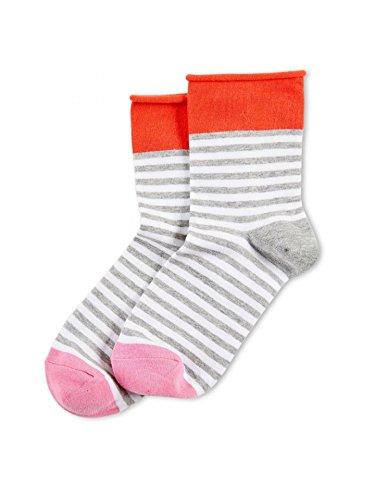 Hue Women's Roll Top Shortie Socks, Fever, Medium