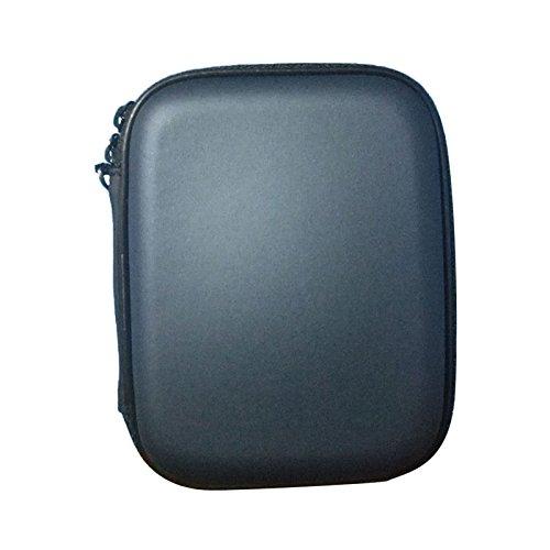 Auntwhale 2.5 inch USB3.0 External Hard Drive Protective Bag Case - 13 × 10 × 4CM - Dark Blue