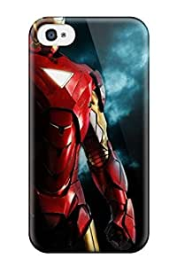 Fashionable Style Case Cover Skin For Iphone 4/4s- 2010 Iron Man Movies