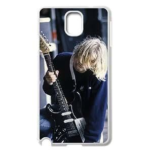 I-Cu-Le Customized Print Kurt Cobain Hard Skin Case Compatible For Samsung Galaxy Note 3 N9000
