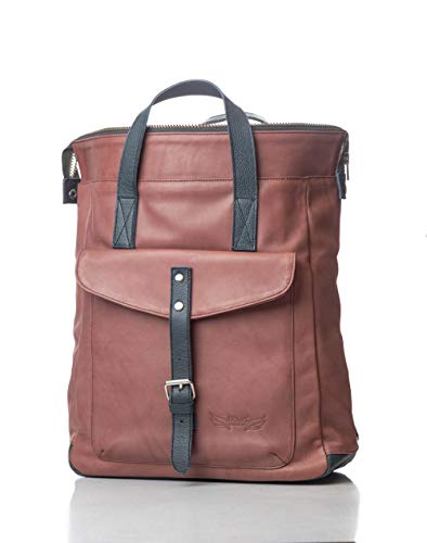 ORNA'S LEATHER ART | EDNA Everyday leather backpack for Women.
