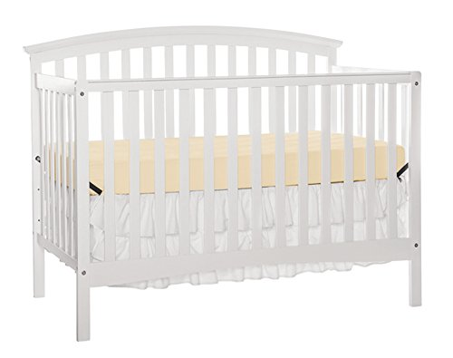 Furniture World Fordham 4-in-1 Convertible Crib, White Review