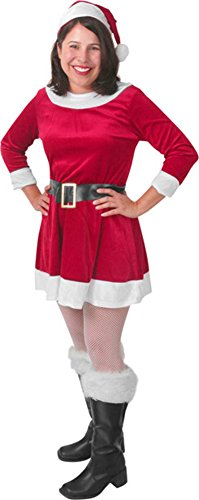 Sexy Mrs Clause Outfit (Women's Santa's Helper Mrs. Clause Costume)