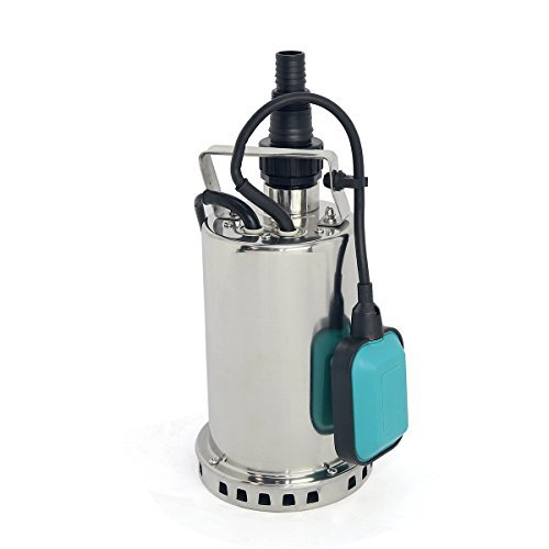 1 HP Stainless Steel Submersible Pump, Sump Pump ()