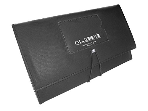 9 pcs Carbon Antistatic Comb Set with Case from ALISSE