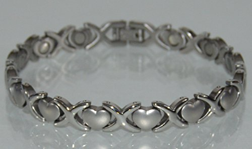 Energy Power BRACELET With Strong Magnet Stones (LINK REMOVAL TOOL INCLUDED)- FREE
