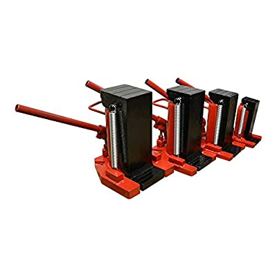 DBM IMPORTS Hydraulic Ram Toe Lift Jack 10/5 Ton Hoist Picker Track Machine Container Loading