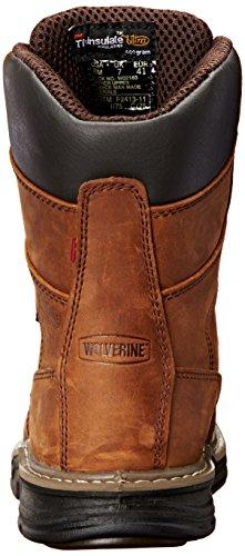 Wolverine Men's Marauder 8 inch Contour Welt Steel Toe EH Work Boot Brown buy cheap cheap lEqoq