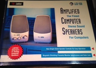 (Labtech LCS150 Space Saver Series Speaker)