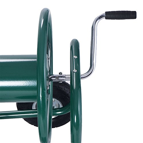 Anbeaut 300FT Garden Water Hose Reel Cart with Basket by Anbeaut (Image #5)