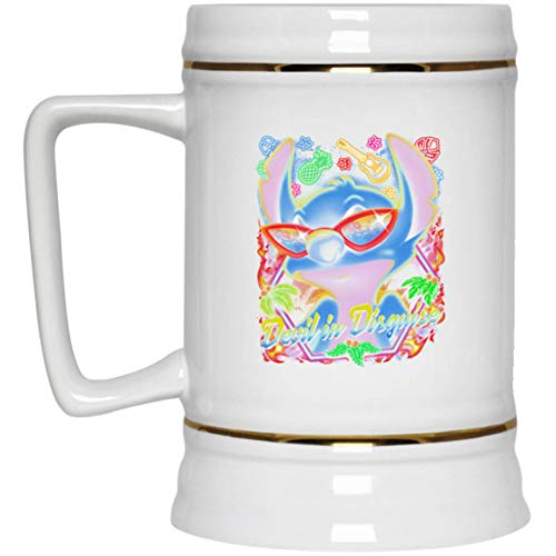 Devil in Disguise Best black beer stein gift for ideas (White; White; One Size)