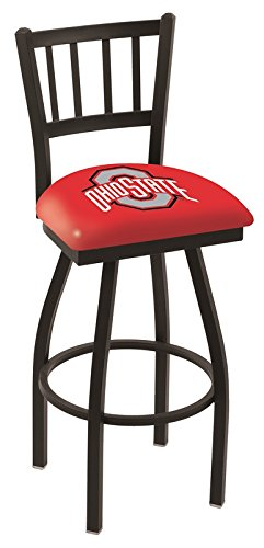 """Holland Bar Stool Co. L01830OhioSt Officially Licensed L018 Ohio State University 30"""" Swivel bar Stool"""