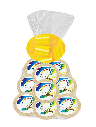 Painter 24Pack Freshly Baked Individually Wrapped Party Favor Sugar Cookies