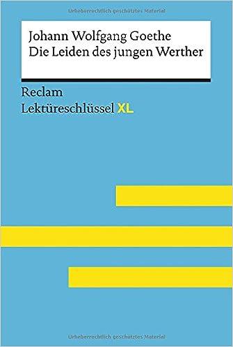 Die Leiden Des Jungen Werther Von Johann Wolfgang Goethe