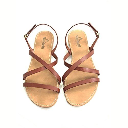 Nardelli Women's Fashion Sandals Brown Leather cxAWi