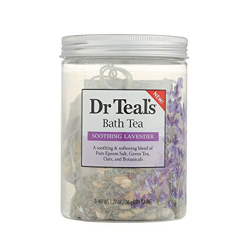 (Dr Teal's Bath tea soothing Lavender Bath Soaks - 3oz, pack of 1)