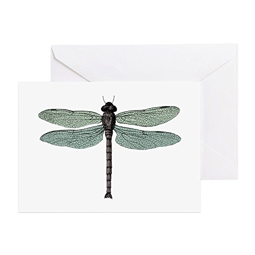 (CafePress Dragonfly Greeting Card, Note Card, Birthday Card, Blank Inside Matte)