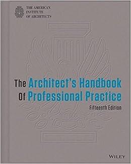 Amazoncom The Architects Handbook of Professional Practice