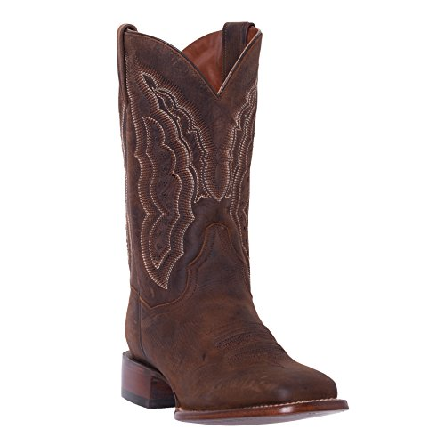 Boots Apache Bay Cowgirl - Silver Canyon Womens Stampede Distressed Brown Square Toe Western Roper Cowboy Boot,Distressed Brown,7 B(M) US