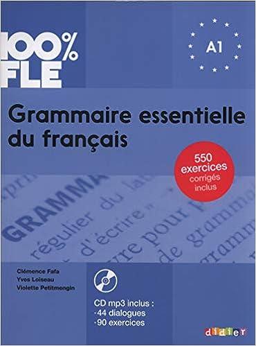 Grammaire Essentielle Du Francais Livre Cd A1