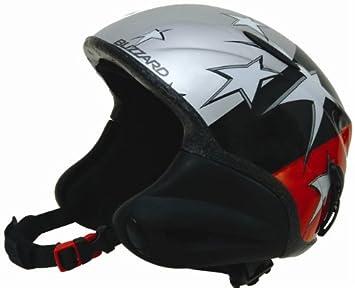 Esquí/Snowboard Casco Blizzard profesional estrellas rojo Talla S/M (49 – 53