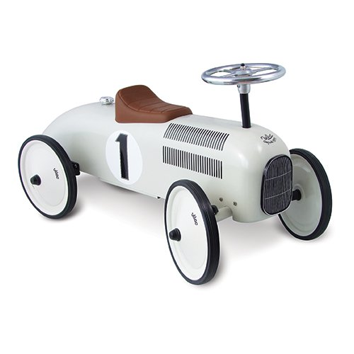 Vilac Metal Car, White by Vilac