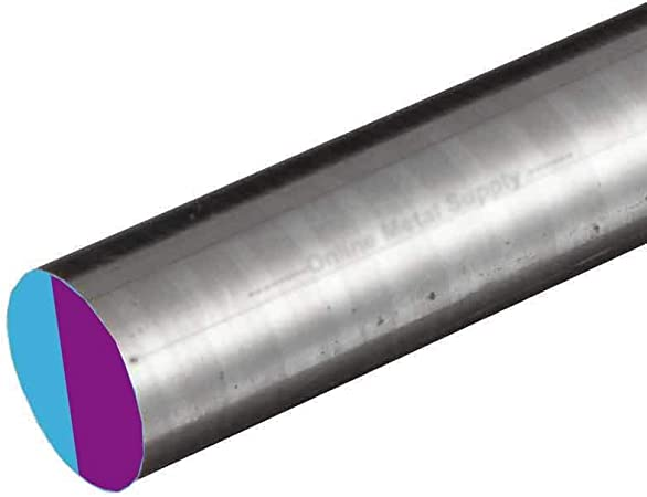 x 24 inches 13//16 inch 0.812 8620 CF Alloy Steel Round Rod