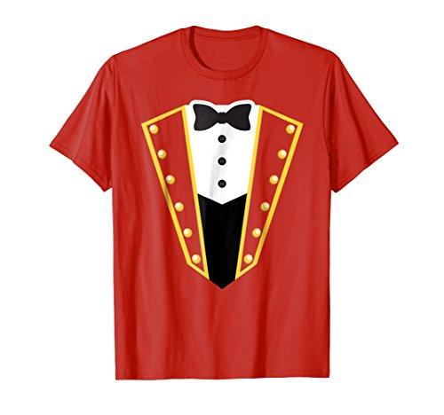 Circus Ringmaster Costume Showman Party Shirt]()