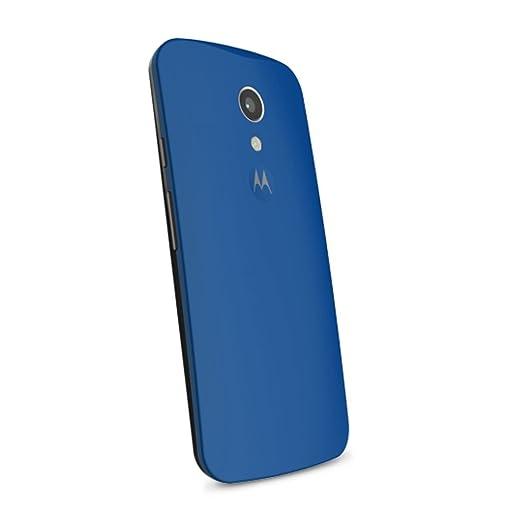 Motorola Shell - Carcasa para Motorola Moto G 2a Generación, color blanco