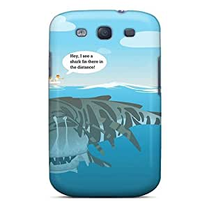 New Arrival Premium S3 Case Cover For Galaxy (not A Shark)
