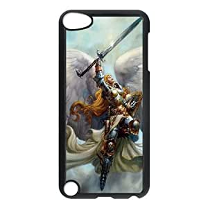 iPod Touch 5 Case Black Valkyrie Girl 004 OQ7656454