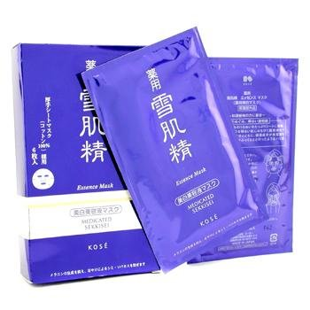 Kose Medicated Sekkisei Essence Mask-6 Piece (Sekkisei Essence Kose)