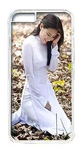 IPhone 6 Plus Case, IPhone 6 Plus Cases Hard Case Vietnamese Girl Case For IPhone 6 Plus, IPhone 6 Plus PC Transparent Case