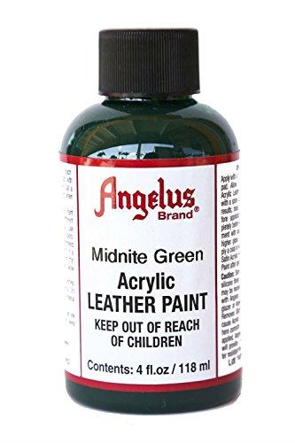 Angelus Acrylic Leather Paint-4oz.-Midnite Green