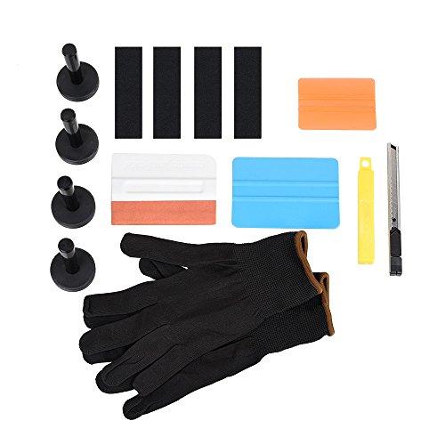 Fontic 2017 black friday deals One Set Universal Car Vinyl Wrap Tool Kit for Starter Vinyl Film Installation