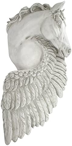 Design Toscano Wings of Fury Pegasus Horse Wall Sculpture