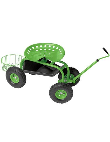Deluxe Tractor Scoot with Bucket Basket (Supply Tractor)